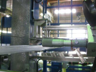圧延設備全体のライン芯調整作業