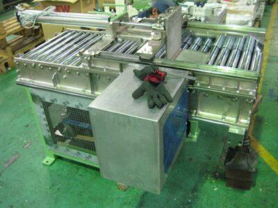 他社製圧延機に材料返し装置取付で生産性向上